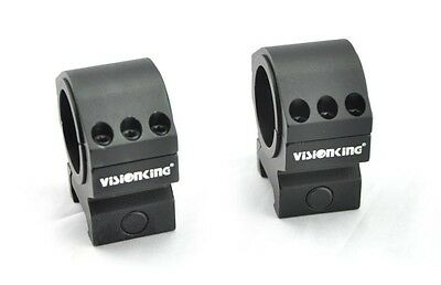 Visionking rifle scope rings 25.4mm 30mm Tube mount for .223 .308 .50 cal low
