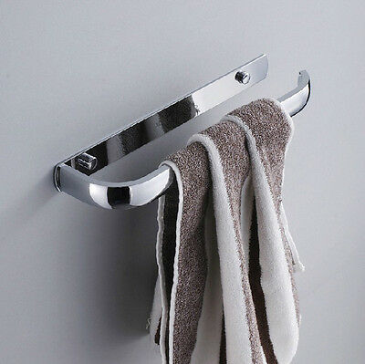Solid Brass Wall Mounted Bathroom Towel Bar Chrome Finished Towel Holder/ring
