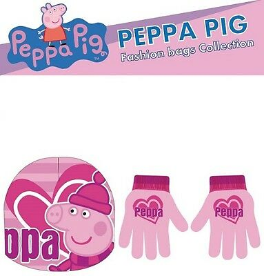 Set Cappello + Guanti Peppa Pig
