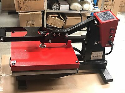 40x60 Solid Heat Press Machine for T-Shirt Printing & Dye Sublimation Transfer