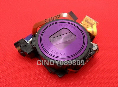 Purple Lens Zoom Unit For Canon PowerShot IXUS230 ELPH 310 HS Camera with CCD