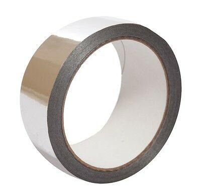 Smooth self-adhesive single-sided Polypropylene Tape with an Aluminium Layer