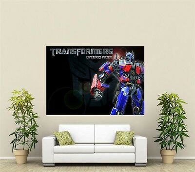 Transformers Optimus Prime Giant 1 Piece  Wall Art Poster VG159