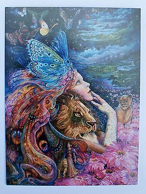 Josephine Wall 18x14cm Grußkarte Karte *Heart and Soul* mit Text