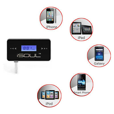 Deal In Car Wireless Fm Radio Music Transmitter For Iphone 4 4G 4S 4Gs 5S 5C 5G