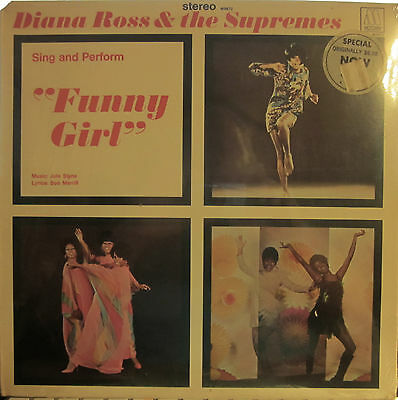 "► Diana Ross and the Supremes - Sing & Perform ""FUNNY GIRL""  (Motown 672) Sealed"