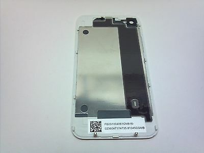 IPHONE Battery Cover Back Door Rear Glass WHITE for iPhone 4S CDMA / VERIZON