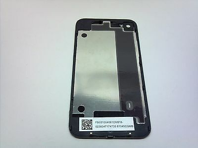 IPHONE Battery Cover Back Door Rear Glass BLACK for iPhone4S CDMA VERIZON SPRINT