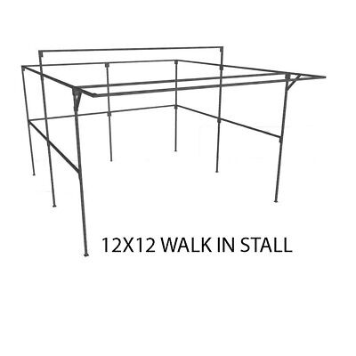 Market Stall 12ft x 12ft walk-in stall