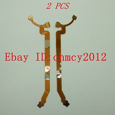 2pcs LENS Aperture Shutter Flex Cable For Canon EF-S 15-85 mm f/3.5-5.6 IS USM