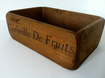 (New)~Vintage Charm Wooden Fruit Baskets/Bowl French Stencils~Small~Medium~Large