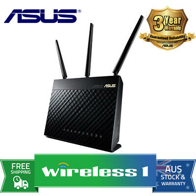 Brand New Asus RT-AC68U Dual Band Wireless AC1900 Gigabit Router