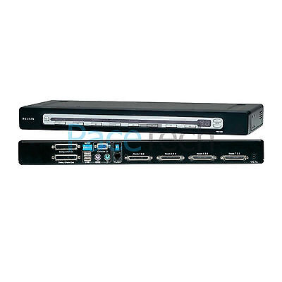 Belkin OmniView Pro3 Series 8-Port KVM Switch with On-Screen Display PS/2 & USB