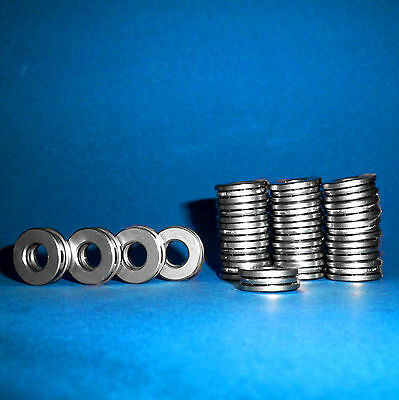 20 Axiallager / Axial Kugellager / Drucklager F3-8M / 3 x 8 x 3,5 mm
