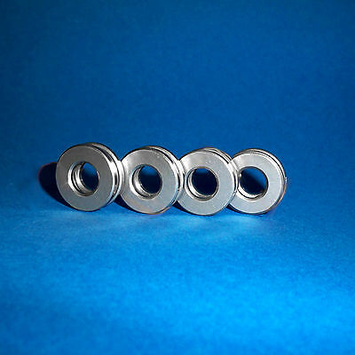 4 Axiallager / Axial Kugellager / Drucklager F7-17M / 7 x 17 x 6  mm