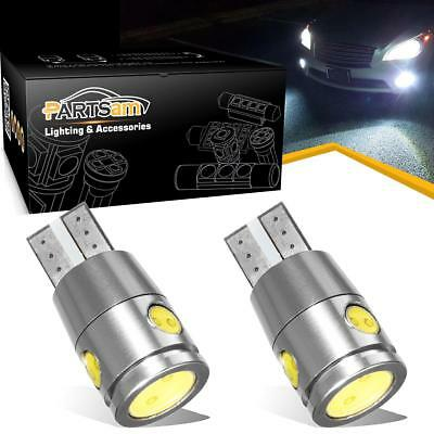 2 x T10 W5W CREE High Power Led Back Up Light Canbus Error Free White