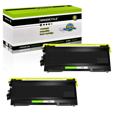 2PK TN350 Toner For Brother HL-2030 HL-2040 HL-2070N Intellifax 2820 2850 2920