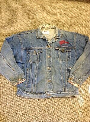 Planet Hollywood Jacket Vintage Size Xl Washington Dc Worn Distressed
