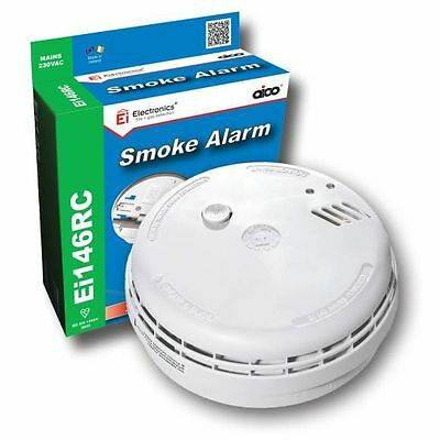 AICO Ei146RC Ei Professional Mains9v Battery Backup OPTICAL SMOKE FIRE ALARM NEW