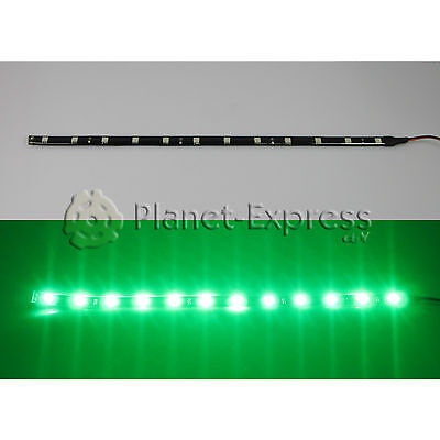 Tira 24 Led SMD 5050 60cm. Verde Waterproof coche, barco, acuario, agua...