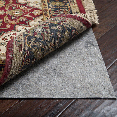"""8' x 10' MOHAWK 1/4"""" Thick Recycled Felt Rug Pad for Hard Floors"""