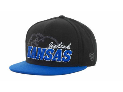 the best attitude 78a35 d8c3f Kansas Jayhawks Top of the World Sublime NCAA College Strapback Cap Hat