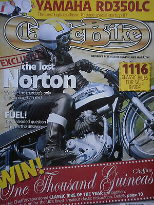 YAMAHA RD350LC 10 page guide / PROTOTYPE 650 UNIT NORTON 6 pages CB-09/04