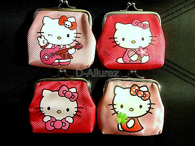 New Hello Kitty Watch & Purse Set Kids Children Teens Girls Adults - 4 Designs
