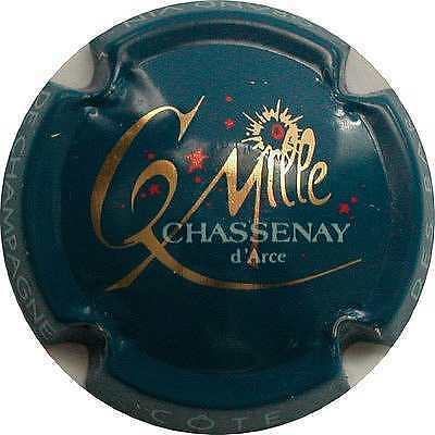 Capsule de Champagne AN 2000  Chassenay D Arce  N° 6  Superbe