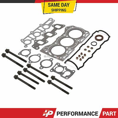 Head Gasket Set Bolts Fits 89-00 GMC Chevrolet Geo Metro 1.0L SOHC 6v G10