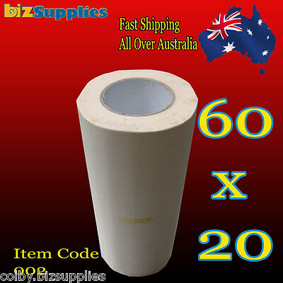 600x20m Low Tack Paper Application Tape / Transfer Tape for Sign Sticker Vinyl