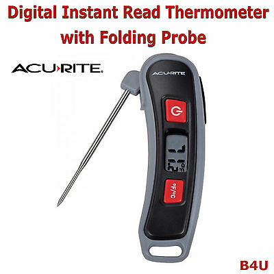 Digital Cooking BBQ Meat Thermometer Temperature with Stainless Steel Probe New