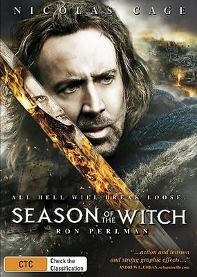 SEASON OF THE WITCH DVD, Nicolas Cage SEALED R4