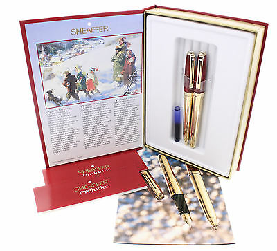 Schaeffer Holiday Originals - The Snow Pen - Edition 1997  Neuwertig  Komplett