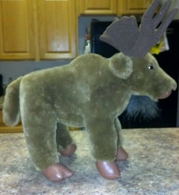 "REDUCED!!! ""Boulder"" Russ Moose Stuffed Plush Toy"