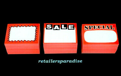 Theyre Back!! 150 ⭐Assorted!!⭐ Sale Special Signs Retail Store Price Point Tags