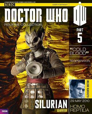Doctor Who Figurine Collection Issue 5 Silurian Warrior Factory Sealed New