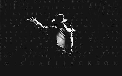 Michael Jackson Poster - 22 inch x 34 inch  - High Quality   - FAST SHIPPING