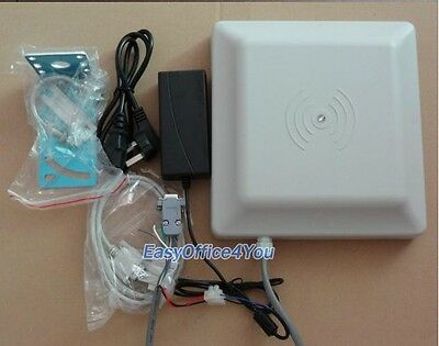 5M IP65 passive UHF long range rfid reader with wiegand+rs232/485 interface