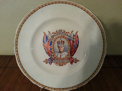 King Edward VIII Proposed Coronation Plate