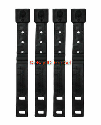 4x Lot Tactical Tailor - Short Black MALICE Clips 4 Pack - MOLLE Kydex OTW NEW