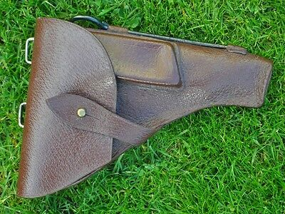 1960s Post WWII Era USSR Russia Original Large Size Pistol Holster Near MINT