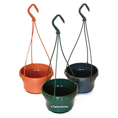 Liliane 14cm diameter plastic Hanging Plant Pots / Baskets - from Topiary Garden