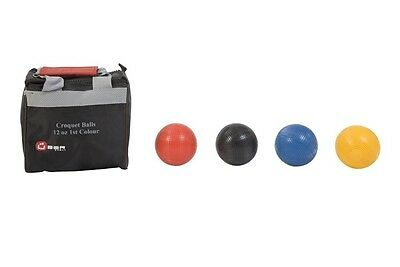 Composite Croquet Balls Available In 1st Colours Or 2nd Colours And 12oz Or 16oz