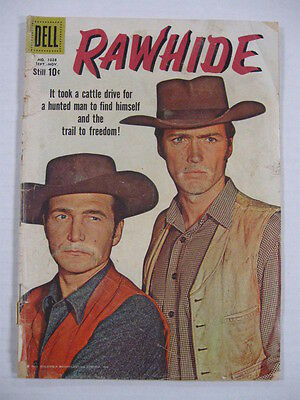 Rawhide Four Color #1028 (#1) G Clint Eastwood Photo Cover!