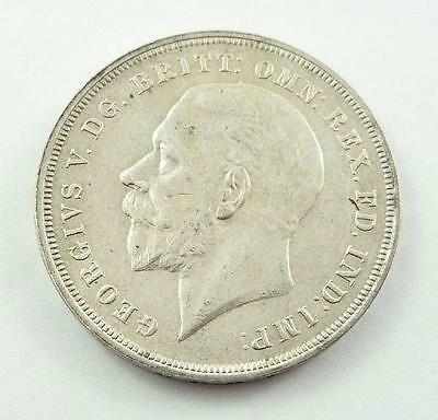 1935 Great Britain / United Kingdom King George V Silver Jubilee Silver Crown