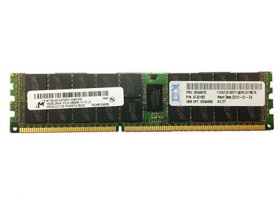 IBM 16GB 2Rx4 47J0183 PC3-12800R REGISTERED REG ECC DDR3 SERVER MEMORY