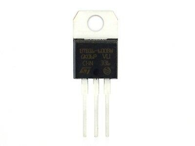 1x Triac ST BTB16-600BW ,600V,16A,TO-220AB (Triacs,Thyristor)L316