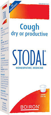 STODAL SYRUP 200ml BRONCHITIS Homeopathy  for ALL types of COUGH