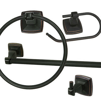 Oil Rubbed Bronze Bath Hardware Bathroom Accessories, Value Packs, and Sets